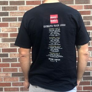 ORACLE 9i Keynote Tour T-shirt Black Vintage L